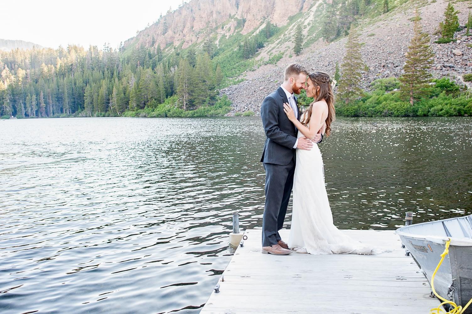 Jackson & Kayla Mammoth Lake Wedding